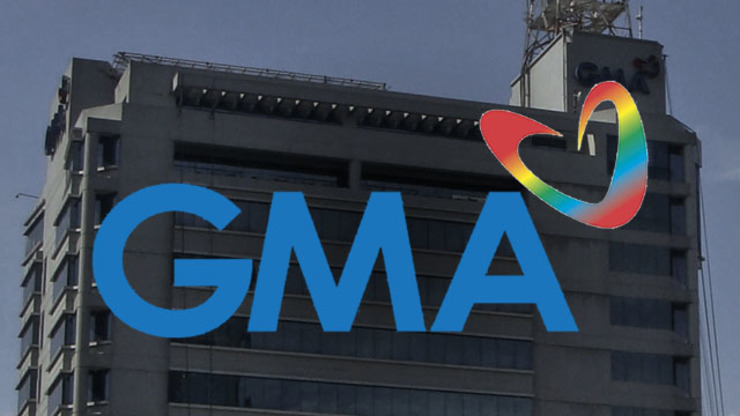 NO VIOLATIONS? GMA-7 denies allegations of labor law violations. Photo of GMA-7 building and GMA-7 logo both from Wikimedia Commons